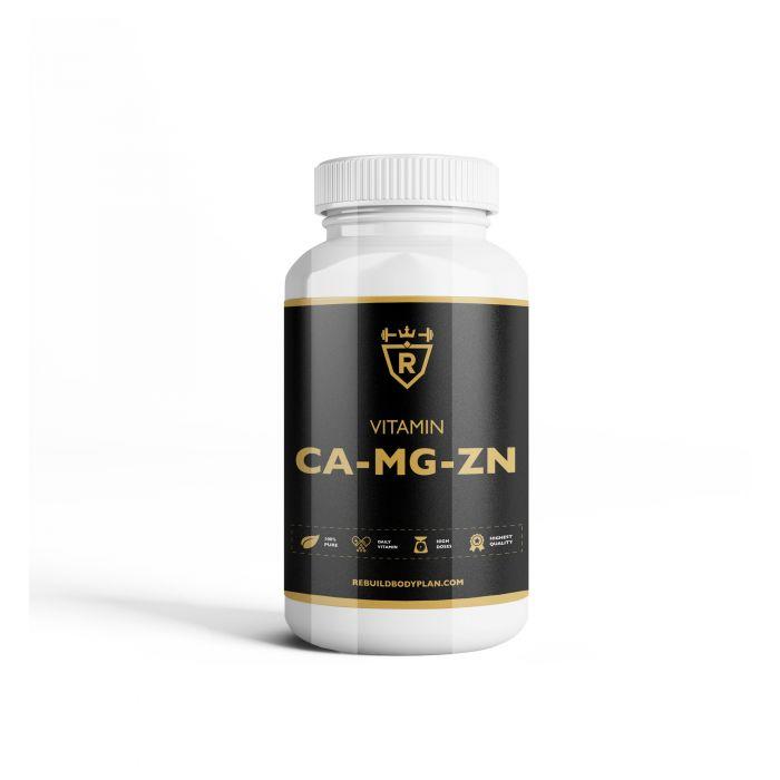 Calcium magnesium zinc - 60 tabs