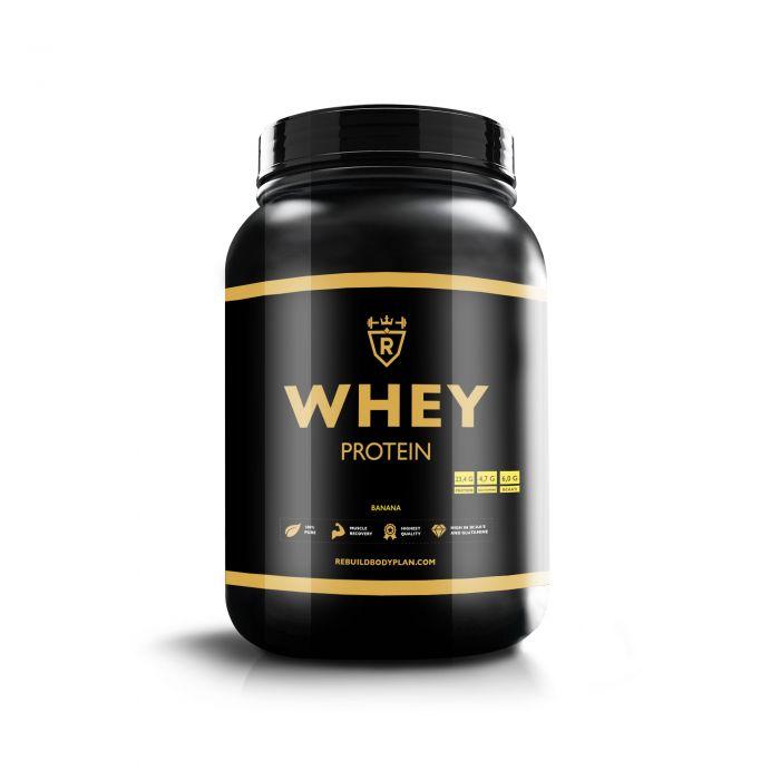 Whey protein - Banana - 2000 gram
