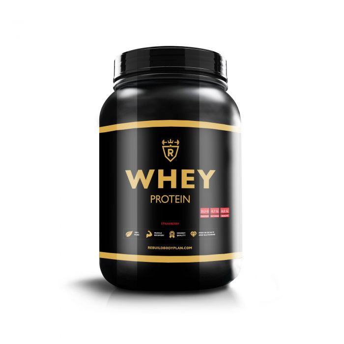 Whey protein - Strawberry - 2000 gram