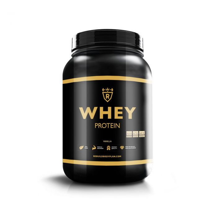 Whey protein - Vanilla - 2000 gram
